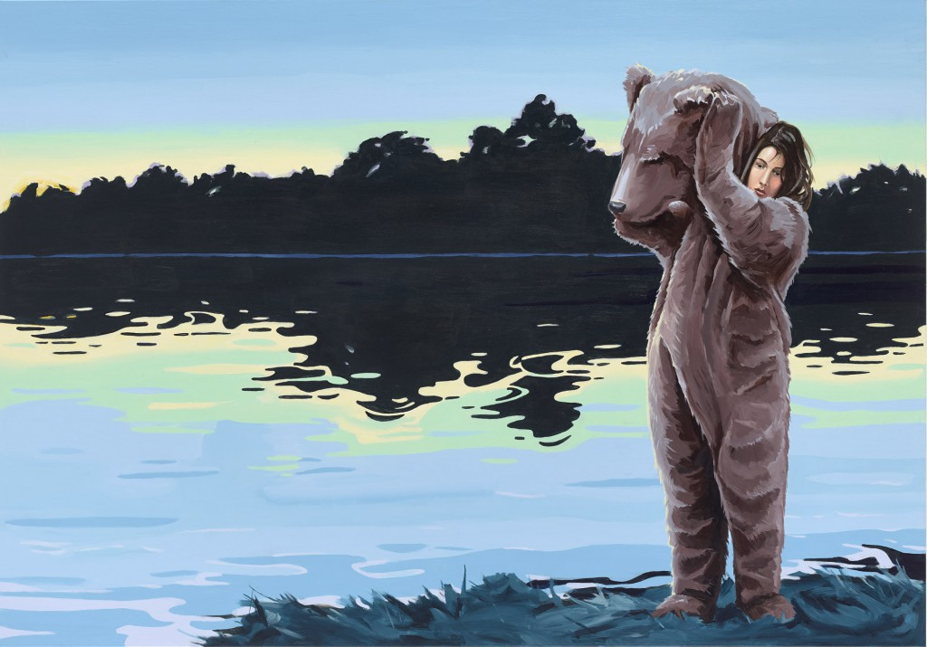 Christopher Winter, The Natural Artifice, 2015, Acryl/Leinwand, 140 x 200 cm