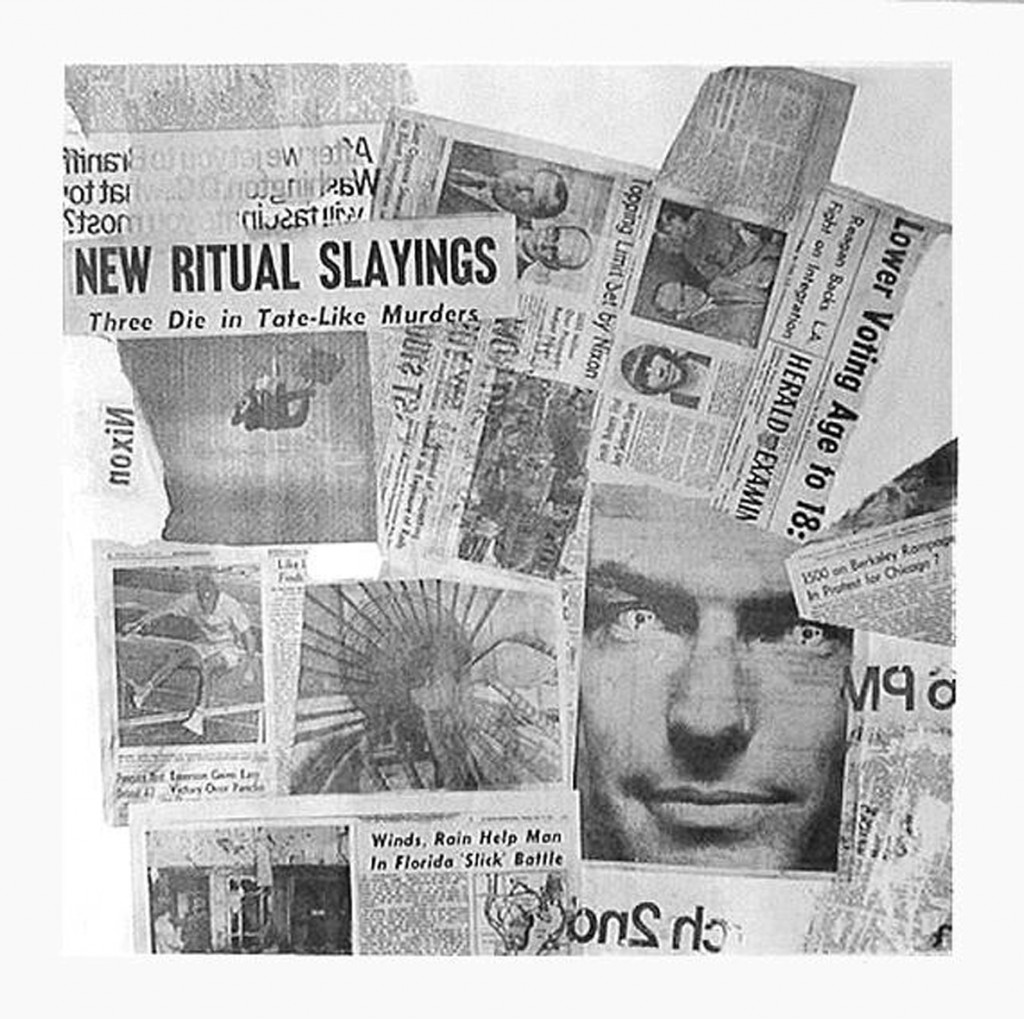 Robert Rauschenberg, Features from currents '62, 1970, Siebdruck, 101x101 cm