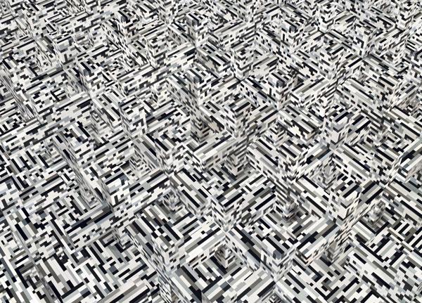 """Andreas Zimmermann, """"x1"""", c-print auf Aludibond in grauer Schattenfuge, 2011, 127 cm x 176 cm, Auflage 5+2AP"""
