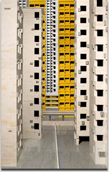 "Andreas Zimmermann, ""Hongkong 2"", Lightjet auf Alu Dibond in grauer Schattenfuge, 2008, 123 cm x 80 cm. Auflage 5+2AP"