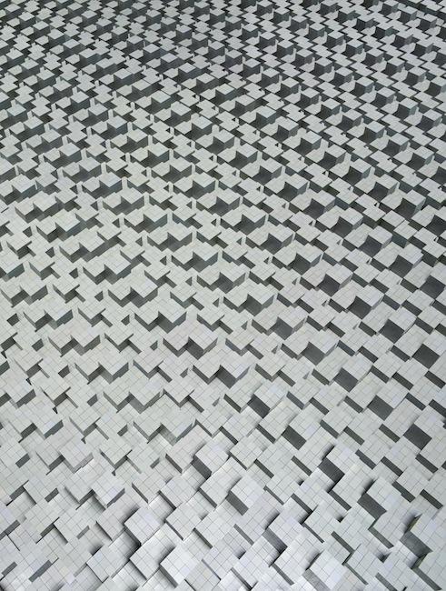 Andreas Zimmermann, Muster, 2013, c-print/aludibond in a grey artist's frame, 125 x 165 cm