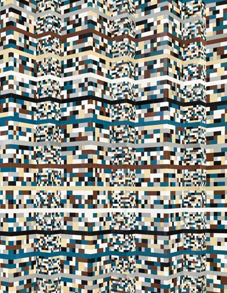 "Andreas Zimmermann, ""Columns"", c-print on aludibond in a grey artist's frame, 2012, 133 x 103 cm, Auflage 5+2 AP"
