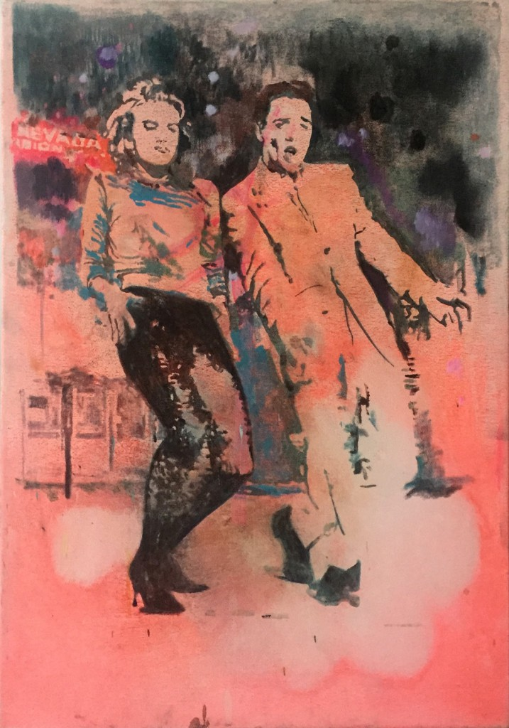 Miriam Vlaming, Can you feel it, 2017, egg tempera/canvas, 70x50 cm